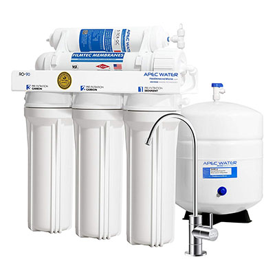 Best Reverse Osmosis Systems APEC Top Tier Supreme Certified High Output Reverse Osmosis System